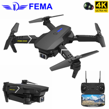 FEMA E525 FPV Drone with HD 4K WiFi Camera Altitude Hold Auto Follow Foldable RC Quadcopter Gift Toy Mini Dron VS E520 E520S E58 jjr c jjrc t49 sol ultrathin wifi 720p camera fpv selfie drone auto foldable arm altitude hold rc quadcopter vs h37 h47 e57