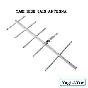High Gain Antenna AY02 Yagi Antenna Female Connector Yagi-Uda Antenna Ham Radio antenna For UV-5R UV-82 BF-888S Walkie Talkie