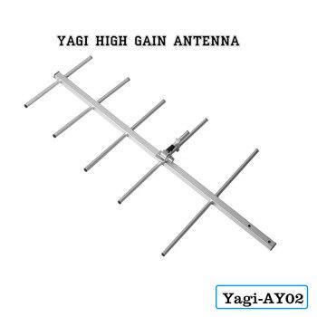 Антенна с высоким коэффициентом усиления AY02 Yagi антенна с разъемом Yagi антенна fm-Uda домашние антенны радио антенна для UV-5R UV-82 BF-888S иди и болтай ...