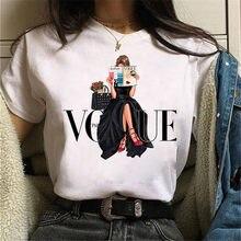 Maycaur nova chegada mulher tshirt dos desenhos animados gráfico impresso senhoras t camisa hip hop mulheres camisas de verão streetwear feminino