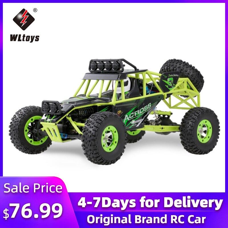 Wltoys 12428 50 км/ч высокоскоростной Радиоуправляемый автомобиль масштаб 1/12 2,4G 4WD Радиоуправляемый внедорожник RTR Электрический Радиоуправляемы...