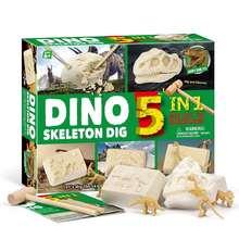Новогодний подарок 2021 набор динозавров игрушки для творчества