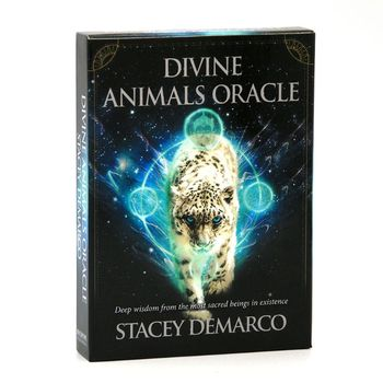 Divine Animals Oracle 44 Cards Deck Deep Wisdom Tarot Family Party Board Game 24BD недорого