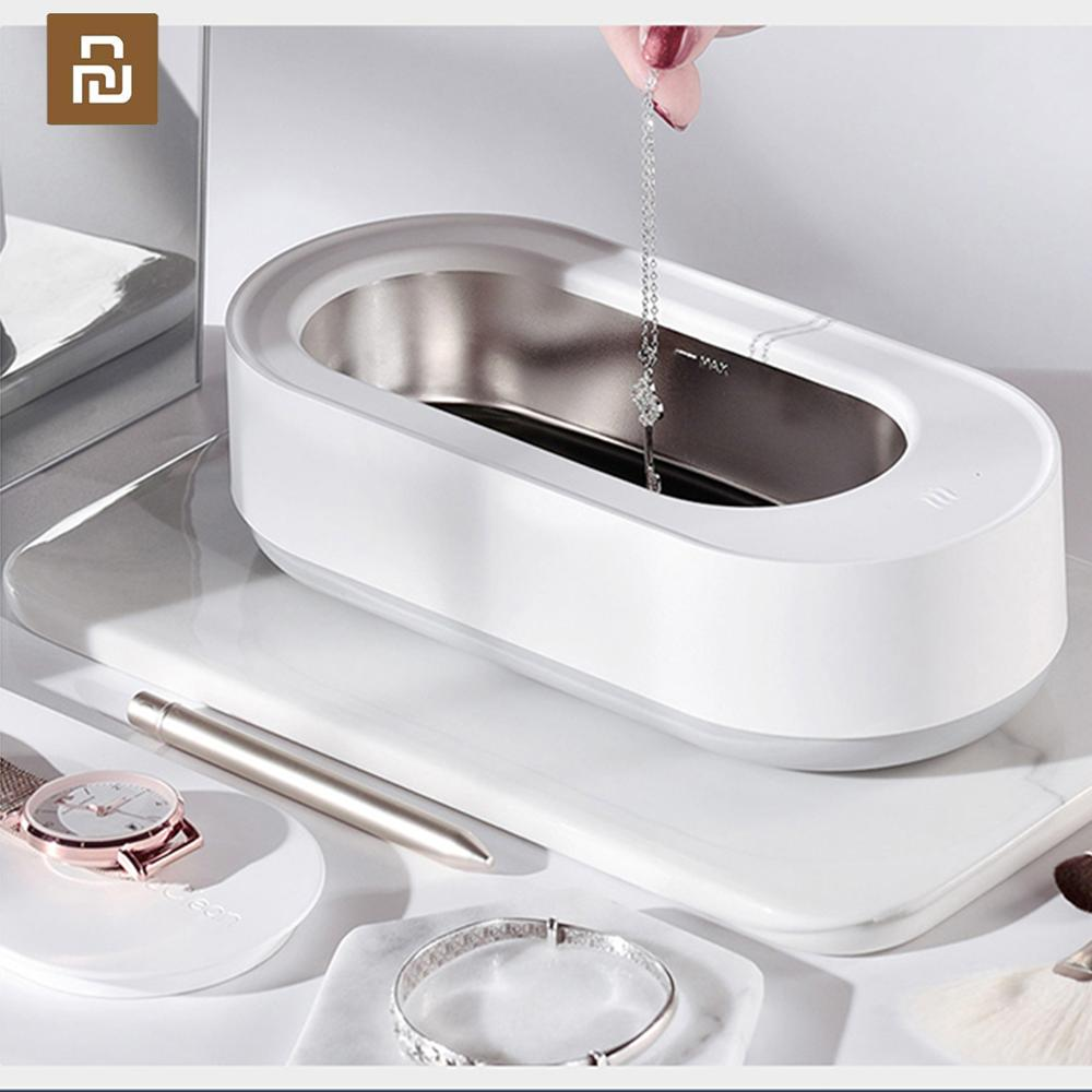 Youpin Ultrasonic Cleaner EraClean Sonic Eyeglass Jewelry Cleaner Ultrasound Cleaning Tank Jewelry Parts Washer