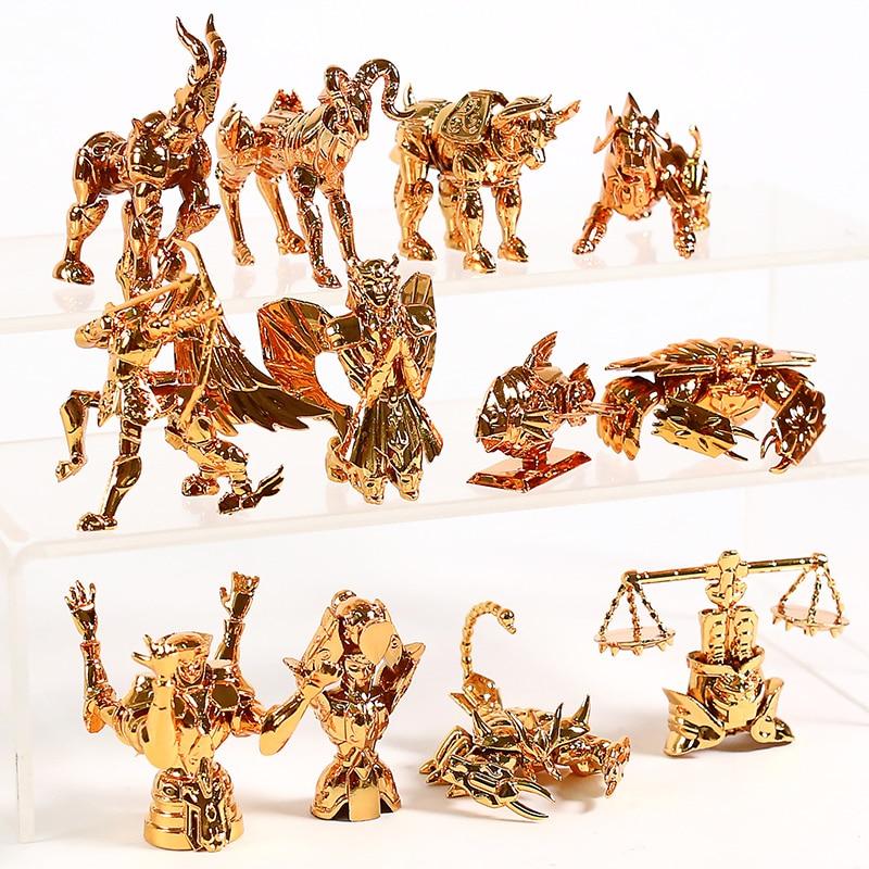 Saint seiya o ouro zodíaco série collectible