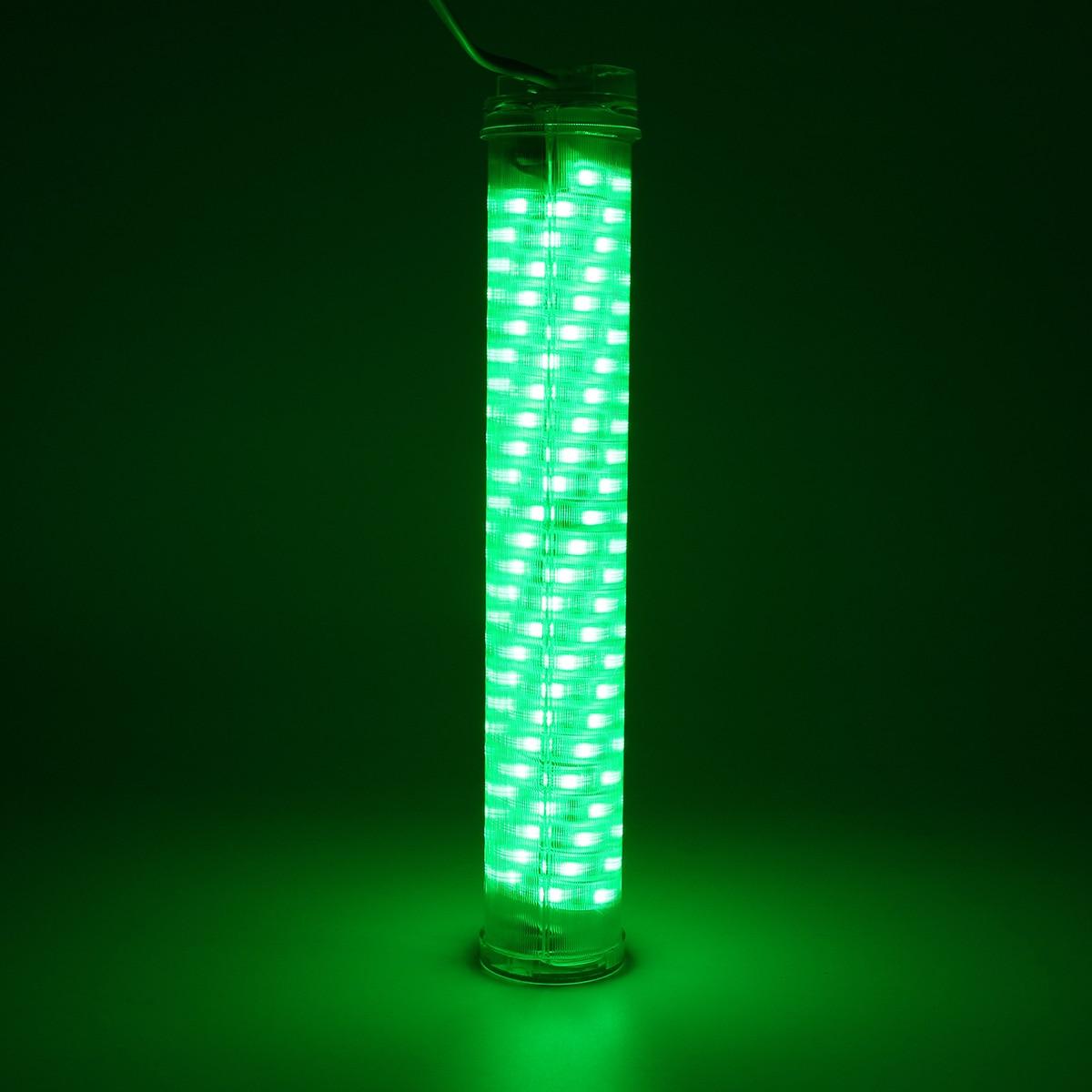 12V 30W Светодиодный Подводный Водонепроницаемый погружной светильник зеленого/синего цвета для рыбалки 2400LM лампа для рыбок кальмаров