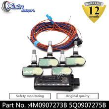 XUAN Tire Pressure Monitoring System Sensor TPMS 4M0907273B 5Q0907275B For AUDI