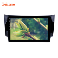 Seicane Android 8.1 2Din GPS Multimedia Player Head Unit 10.1 Inch For NISSAN SYLPHY 2012 2016 Car Radio Support Backup camera