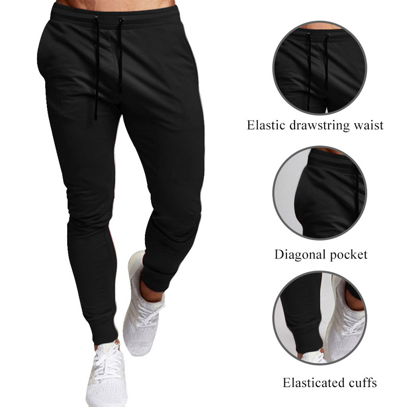 DIHOPE Autumn Winter Brand Joggers Gyms Sweatpants Men Joggers Trousers Sporting Clothing The High Quality Bodybuilding Pants