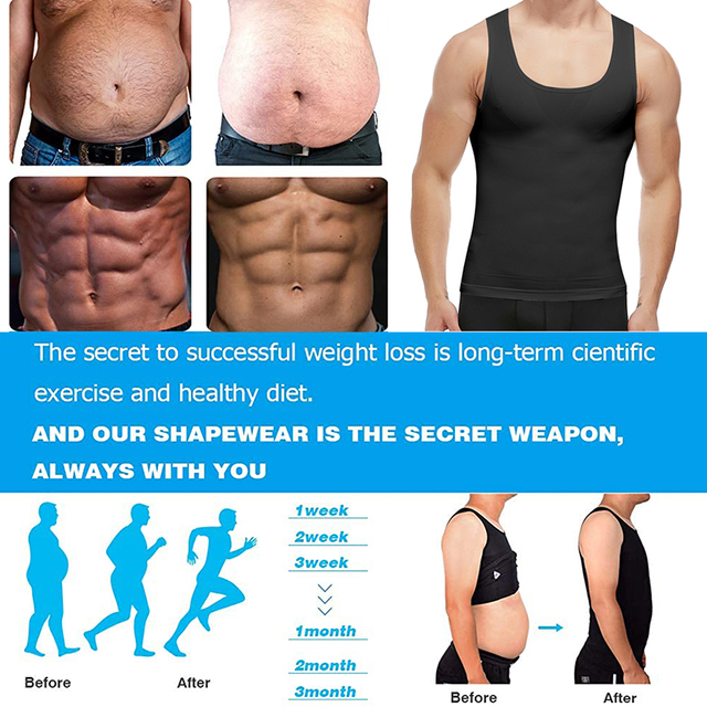 Men Shapers Belt Belly Men Slimming Vest Body Shaper Abdomen Fat Burning Waist Sweat Corset Weight Dropshipping Shapewear 4