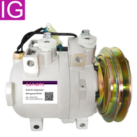 For 24V DKV14C AC Compressor For Hitachi Hyundai HCC Excavator 11N690040 11N6 90040 11N892040 50000674001 5060216413