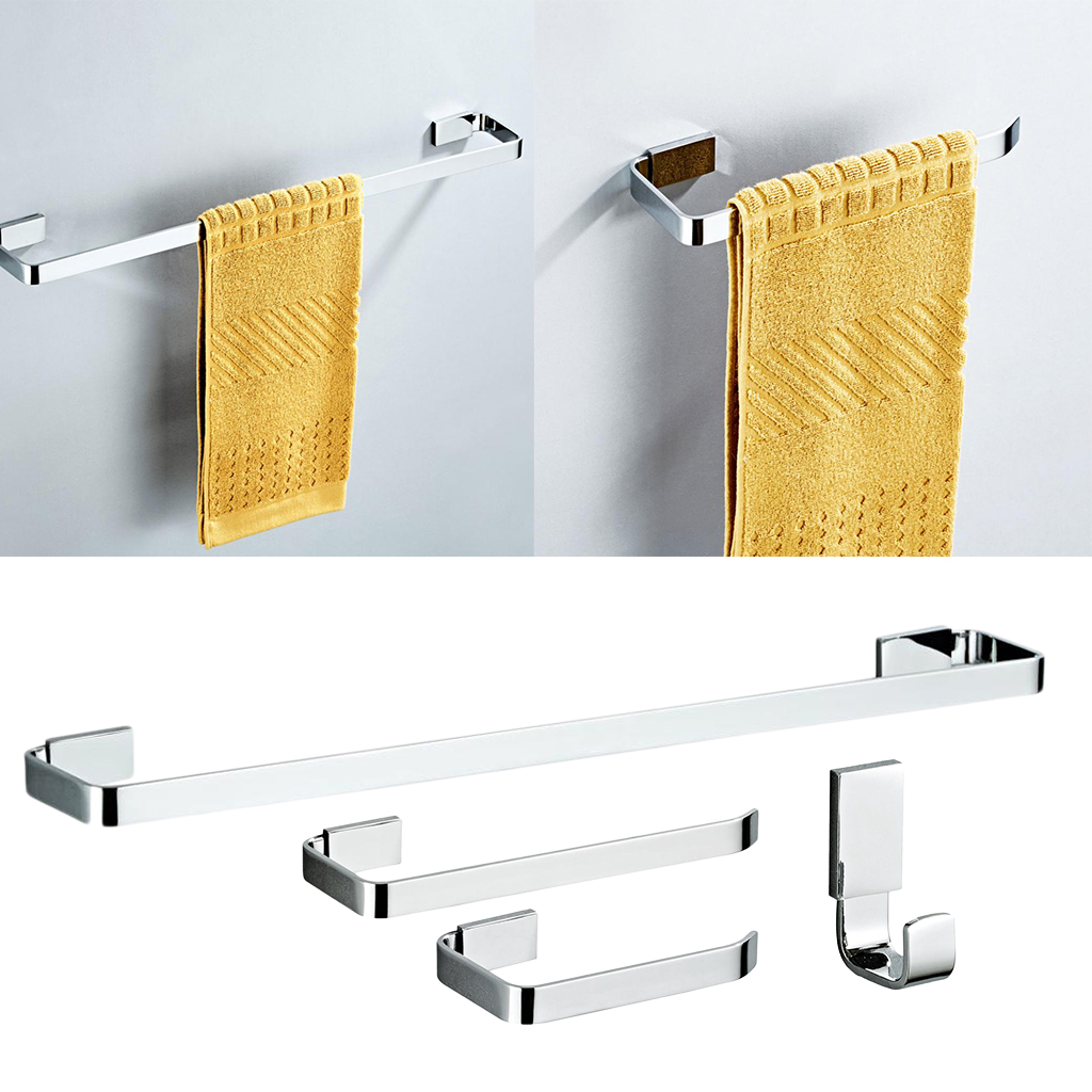 Modern Wall Mount Towel Bar Hand Towel Ring Towel Holder Rack For