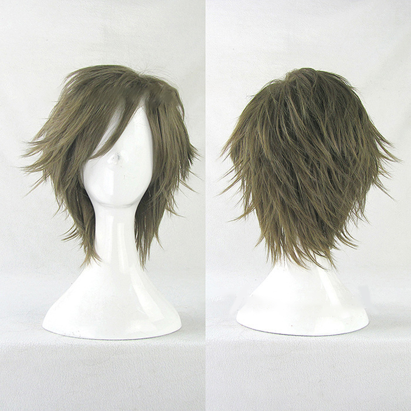 HAIRJOY  Synthetic Hair Wigs Short Curly Layered Cosplay Wig  4 Colors Available 5