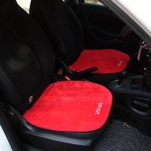 Carro de pelúcia quente almofada do assento capa almofada do assento esteira para mercedes smart 451 453 fortwo coupe cabrio forfour roadster acessórios