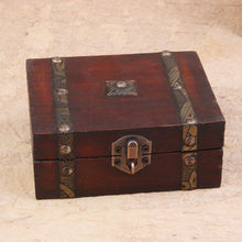 2020 decorativo trinket jóias caixa de armazenamento artesanal vintage caso do tesouro de madeira produtos dropshipping