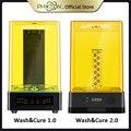 Anycubic мыть и аппарат для лечения для 3d принтера Фотон-S фотон-ноль УФ отверждения смолы и стиральная 2-в-1 impressora 3d