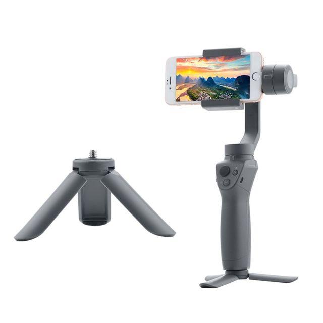 ミニポータブルデスクトップ三脚dji osmo携帯2/3ハンドヘルドptz安定剤