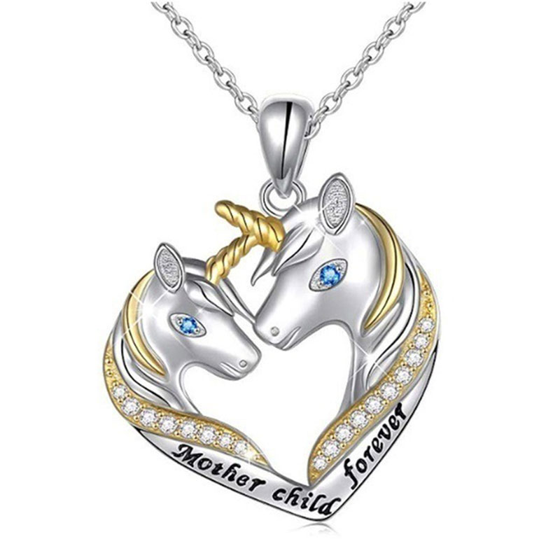 24 Style Cute Cartoon Animal Statement Necklace for Women Girls 2020 New Fashion CZ Wedding Jewelry Gifts for Children Kids