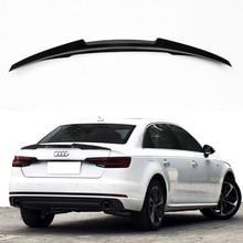 A4 B9 Koolstofvezel Auto Kofferbak Lip Spoiler Wing Voor Audi A4 B9 2016UP M4 Stijl