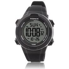 جديد موضة الرجال الساعات الرياضية مقاوم للماء 100 متر في الهواء الطلق متعة متعددة الوظائف ساعة رقمية السباحة الغوص ساعة اليد Montre أوم