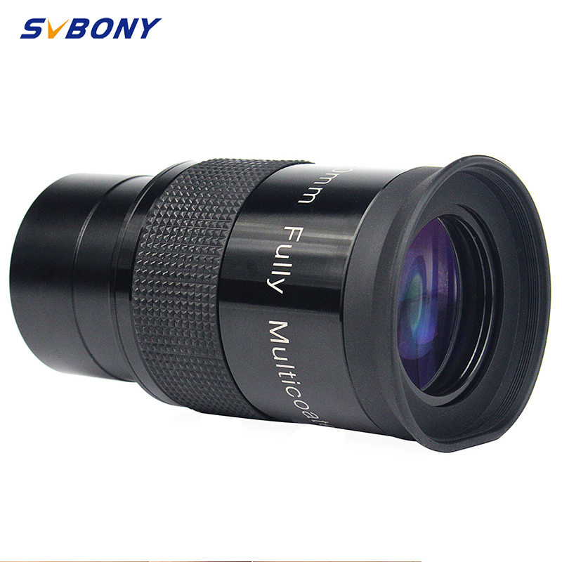 "2"" F30mm Monocular Telescope  Eyepiece Ultra Wide Angle 80 Degree Astronomy FMC Eyepiece w/Thread for 49mm Camera W2482-in Monocular/Binoculars from Sports & Entertainment"