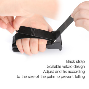 Image 5 - All in one Handheld Bracket Built in Data Cable for Connection To Mobile Phones Hand Grip Support for Osm Pocket Accessories