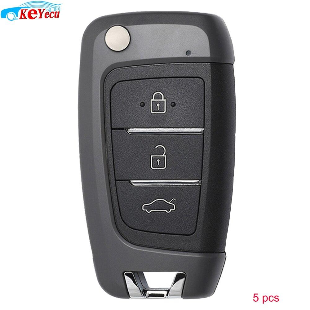 KEYECU 5 Pieces/ Lot  KEYDIY NB Series NB25 Universal Remote Control Car Key   3 Button   for KD900 KD900+ URG200 KD X2 Mini KD|Car Key| |  - title=