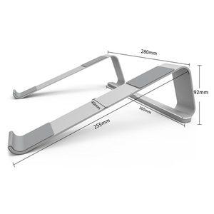 Image 2 - Laptop standı Notebook standları Tablet dizüstü bilgisayarlar tutucu Metal MacBook Air 13 için Xiaomi Pad Samsung tabanı soğutma taban aksesuarları