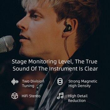 KZ EDX 1DD In Ear Earphones HIFI Bass Earbuds Monitor Earphones Sport Noise Cancelling Headset KZ ES4 ZST X ED9 ED12 STM M10 ZS3 6