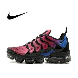 Мужская дышащая беговая Обувь Nike Air Vapormax Plus TM, спортивные уличные кроссовки, спортивная Дизайнерская обувь, новинка AO4550-001