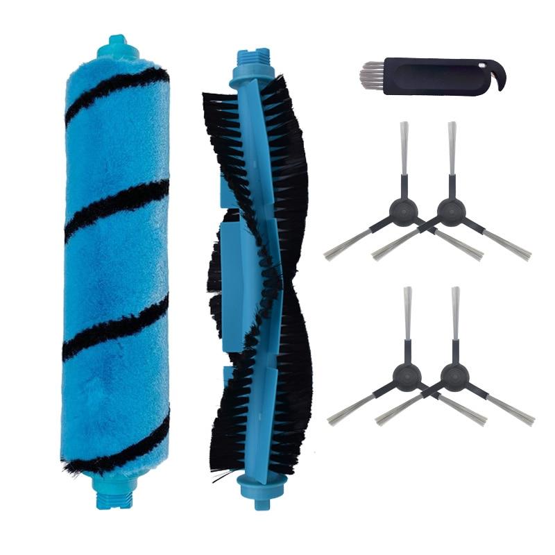 Side Brush Cleaning Brush Roll For Cecotec Conga 3490 4090 For Xiaomi Mijia STYJ02YM V2 V-RVCLM21B Vacuum Cleaner Roller Brush