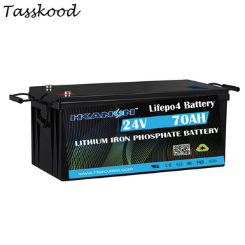 Deep cycle Rechargeable Batteries 24V 70AH lithium ion solar energy storage lifepo4 battery image