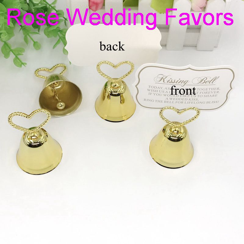 Image 4 - (50pcs/lot)FREE SHIPPING Christmas Party Favor Kissing Bell Place