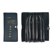 11 tamaños de acero inoxidable agujas de tejer circulares Kit de conjunto de ganchillo hilo de tejer herramientas de manualidades DIY con bolsa/43/65/80/100/120cm