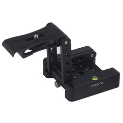Foldable Portable Adjustable Z Type Studio Slider Rail Camera Bracket Aluminum Alloy Tilt Photography Quick Release Tripod Head