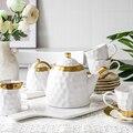 Европейский роскошный керамический чайный набор  домашний чайник