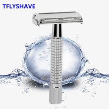 Shaver Classic Safety-Razor MINGSHI Hair-Removal Double-Edge 5-Blades with Women