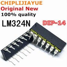 10PCS LM324 DIP14 LM324N DIP 324 DIP-14 신규 및 기존 IC 칩셋