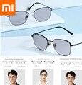 Оригинальные Xiaomi двойные анти-синие очки + обесцвечивание защита синий свет мульти эффект очки Xiomi смарт плоский свет (0 градусов)