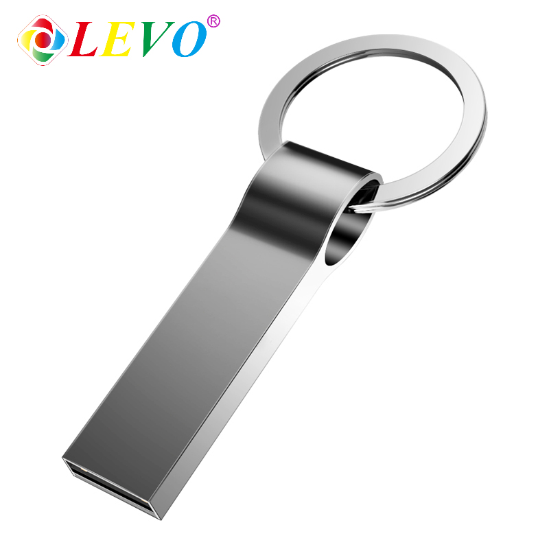 USB 2.0 Flash Drive Metal Pendrive Real Capacity 128GB 32GB 64GB High Speed Usb Memory Stick Waterproof Free Shipping