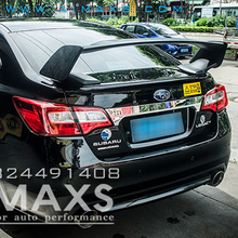 Car Styling For subaru Legacy ABS rear trunk boot Wing Spoiler 2016-2017