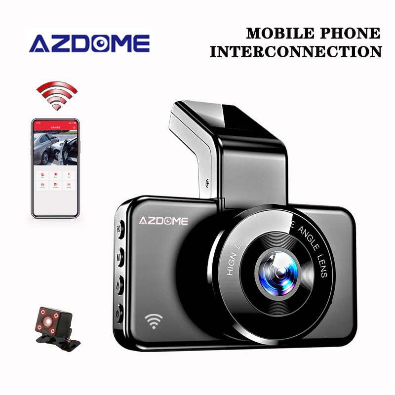 Original AZDOME M17 Dash Cam Night Vision Video Recorder 1080P <font><b>Car</b></font> <font><b>Camera</b></font> Recorder 24h Parking Monitor <font><b>Car</b></font> <font><b>DVR</b></font> <font><b>ADAS</b></font> Dash <font><b>Camera</b></font> image