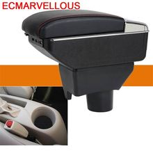 Automovil Arm Rest Car Car-styling Interior Mouldings Modification Accessory Styling Armrest Box 14 15 16 17 FOR Toyota Vios