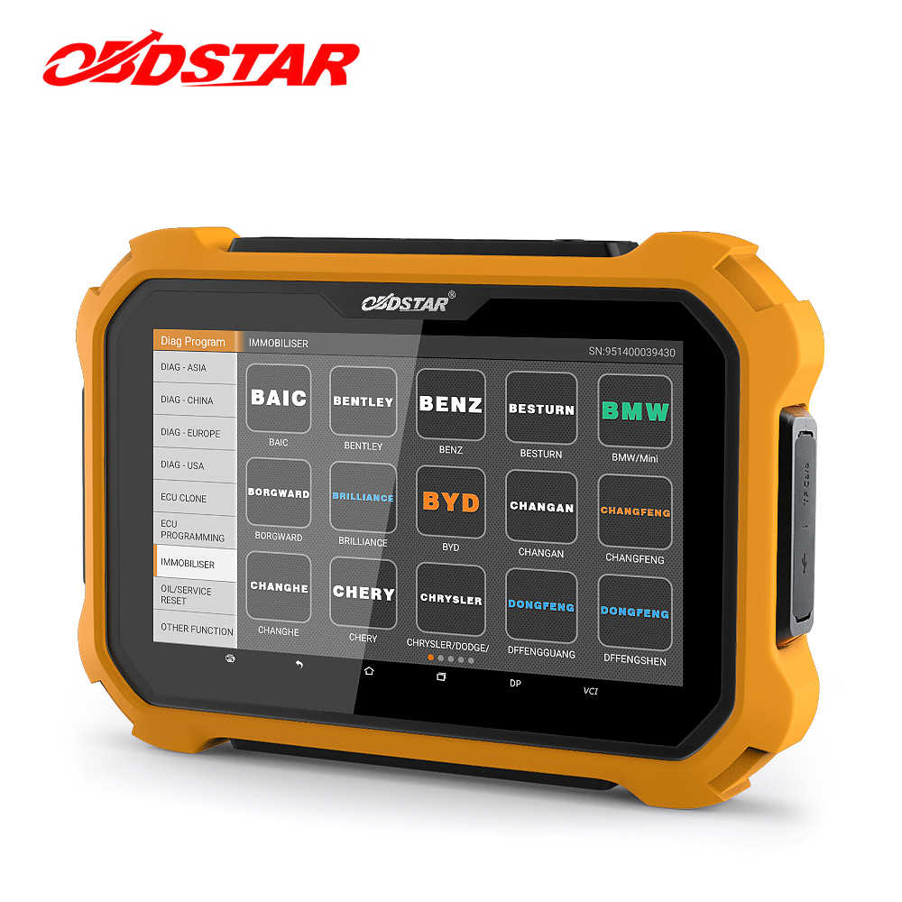 OBDSTAR X300 DP プラスオートキープログラマーピンコード走行距離補正 Eeprom X300 キーマスター PAD2 OBD2 診断ツール
