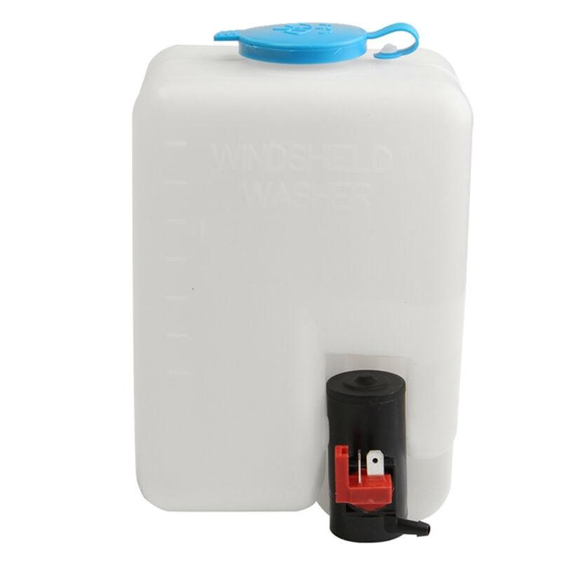 Washer Tank Pump Bottle Kit Universal Windshield Wiper Systems Quality Reservoir