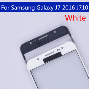 Image 5 - 10pcs\lot For Samsung Galaxy J7 2016 J710 J710F J710FN J710M J710MN J710H Touch Screen Outer Glass LCD Front TouchScreen Lens