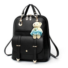 Small Women Shoulder Backpack Female School Bags for Teenage