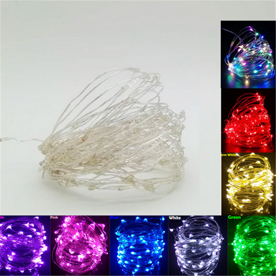 Christmas Outdoor Led String Lights Garland 1-10M Waterproof LED Fairy Light Wedding Party Xmas Holiday Light