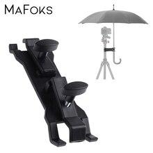 Suporte de guarda chuva portátil, para fotografia ao ar livre, tripé, luz, suporte flash, acessórios para estúdio de fotos