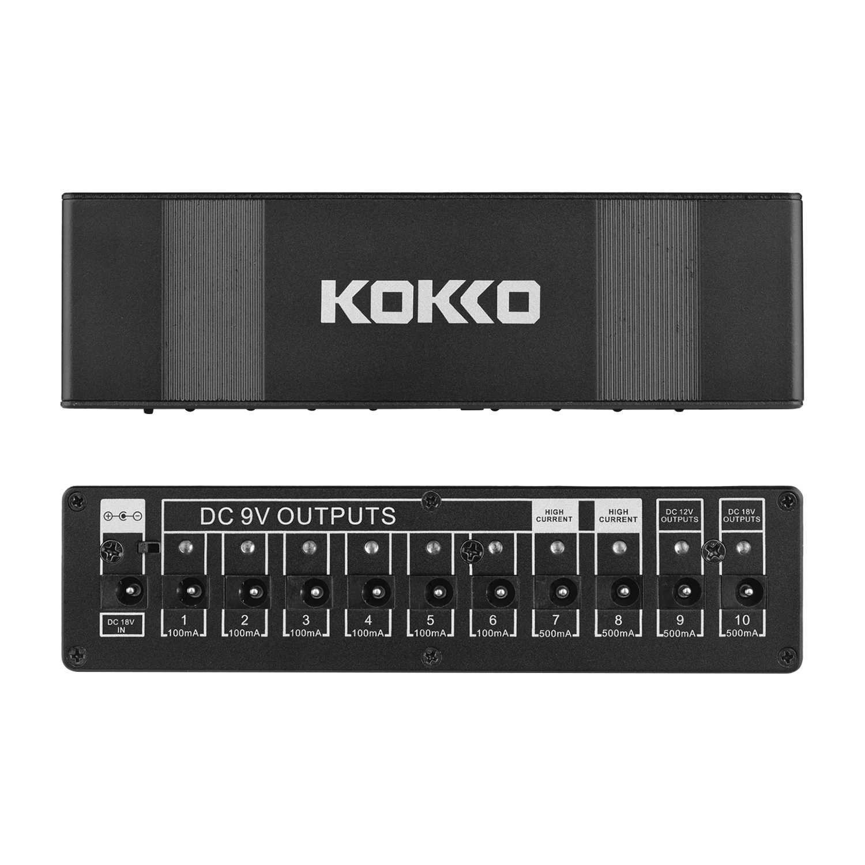 KOKKO гитарная педаль, источник питания, высокое качество, гитарный эффект, педаль питания, десять изолированных выходов, 10 способов стабилизированного напряжения